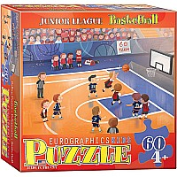 Basketball Junior League 60-Piece Puzzle