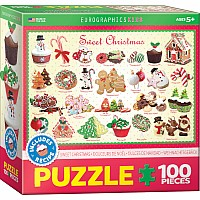 Sweet Christmas 100-Piece Puzzle