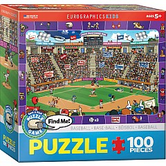 Baseball Spot & Find 100-Piece Puzzle