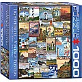 Lighthouses Vintage Ads 1000-Piece Puzzle (small box)