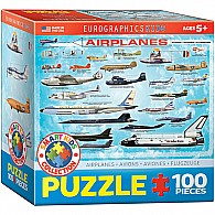 Airplanes 100-Piece Puzzle (small box)