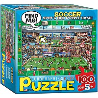 Sport Spot & Find 100-Piece Puzzle (small box)