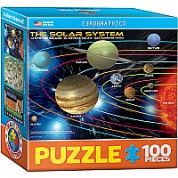 The Planets 100-Piece Mini Puzzle