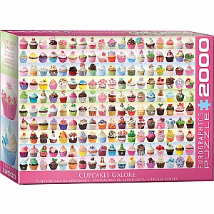 2000 Pieces - THE BIG PUZZLE COLLECTION - Cupcakes Galore