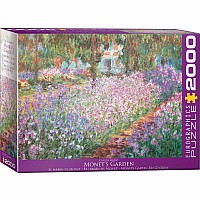 2000 Pieces - THE BIG PUZZLE COLLECTION - Monet's Garden by Claude Monet
