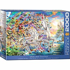 2000 Pieces - THE BIG PUZZLE COLLECTION - Unicorn Fantasy by Adrian