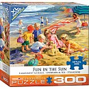 300 pc - XL Puzzle Pieces - Fun in the Sun by Corinne Hartley