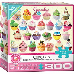Cupcakes 300-Piece Puzzle (small box)