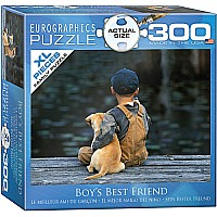 Boy's Best Friend 300-Piece Puzzle (Small Box)