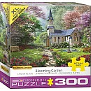 300 pc - XL Puzzle Pieces - Blooming Garden by Dominic Davison