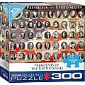 300 pc - XL Puzzle Pieces - Presidents of the United States