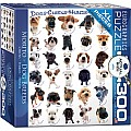 Dogs 300-Piece Puzzle (small box)