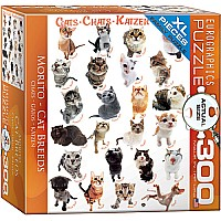 Cats 300-Piece Puzzle (small box)