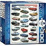 American Cars of the Fifties 300-Piece Puzzle (Small Box)