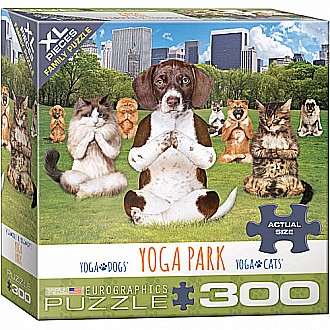 300 pc - XL Puzzle Pieces - Yoga Park