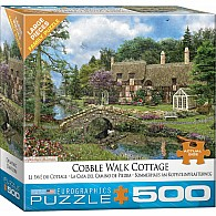 Cobble Walk Cottage by Dominic Davison 500-Piece Puzzle (small box)