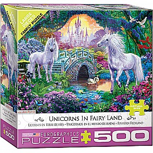 Unicorns in Fairy Land 500pc