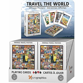 Playing Cards - Travel the World - Playing Cards