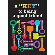 "Key To Being A Good Friend 13"" X 19"" Posters"