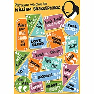 "Shakespeare 13"" X 19"" Posters"