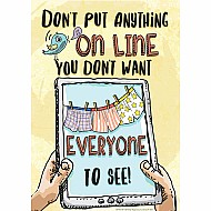 "Don't Put Anything On Line 13"" x 19"" Posters"