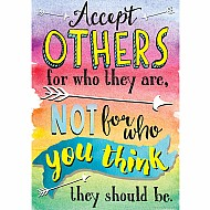 "Accept Others (Respect) 13"" X 19"" Posters"