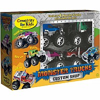 Monster Trucks Custom Shop (4 truck pack)
