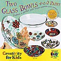 Two Glass Bowls 4 U 2 Paint