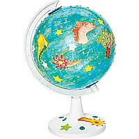 Faber-My World of Art: Create & Paint In The Round Globe Craft Kit