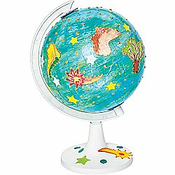 "Faber-Castell ""Do Art, My World of Art"" Create & Paint In The Round Globe Craft Kit"