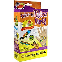 Color-in Tattoo Party