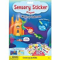 Sensory Sticker Playset  -  Magical Undersea