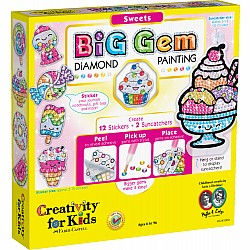 Big Gem Diamond Painting  -  Sweets