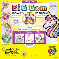 Big Gem Diamond Painting  -  Magical