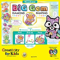 Big Gem Diamond Painting  -  Woodland