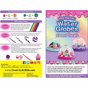 Water Globe  Sweet Treats