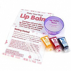 Creativity for Kids Make Your Own Lip Balm Kit - Makes 5 Lip Balms - Includes Customizable Containers and Handy Carrying Case -