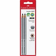 2 ct Jumbo GRIP Graphite No. 2 (B) EcoPencils