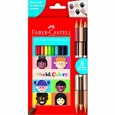 World Colors Colored EcoPencils 15-pack