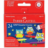 24ct GRIP Erasable Crayons