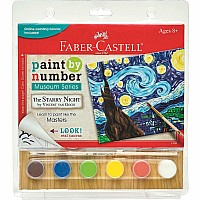 Paint By Number Museum Series - The Starry Night