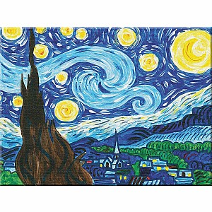 Paint By Number Museum Series-The Starry Night