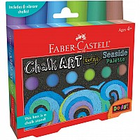 Do Art Outdoor Chalk Art Refill-Seaside