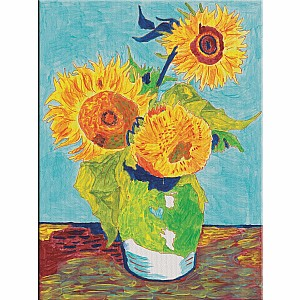 Paint By Number Museum Series-Sunflowers