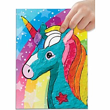 Do Art Coloring With Clay Unicorn & Friends