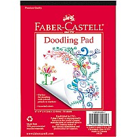 "Faber-Castell Doodling Pad 6"" x 9"""