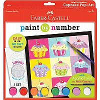 Paint By Number Cupcake