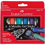 6 ct Metallic Gel Sticks