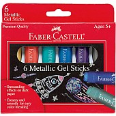 Metallic Gel Sticks Set of 6