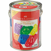 Young Artist Finger Painting Set (paint can)